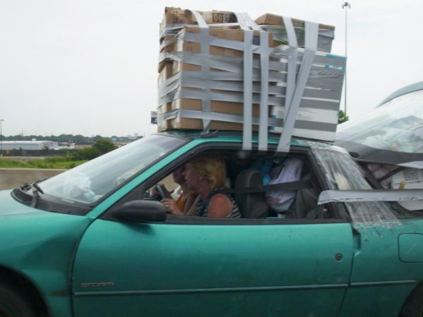 7 Carrying Luggage On Your Car Roof